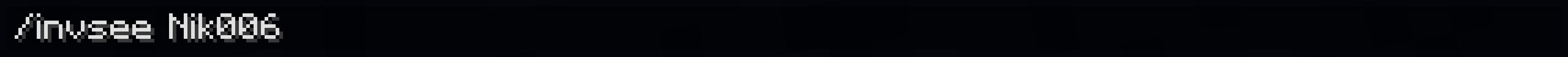 Comando InvSee: ecco finalmente Come Vedere L'Inventario Di Un Player In Minecraft.