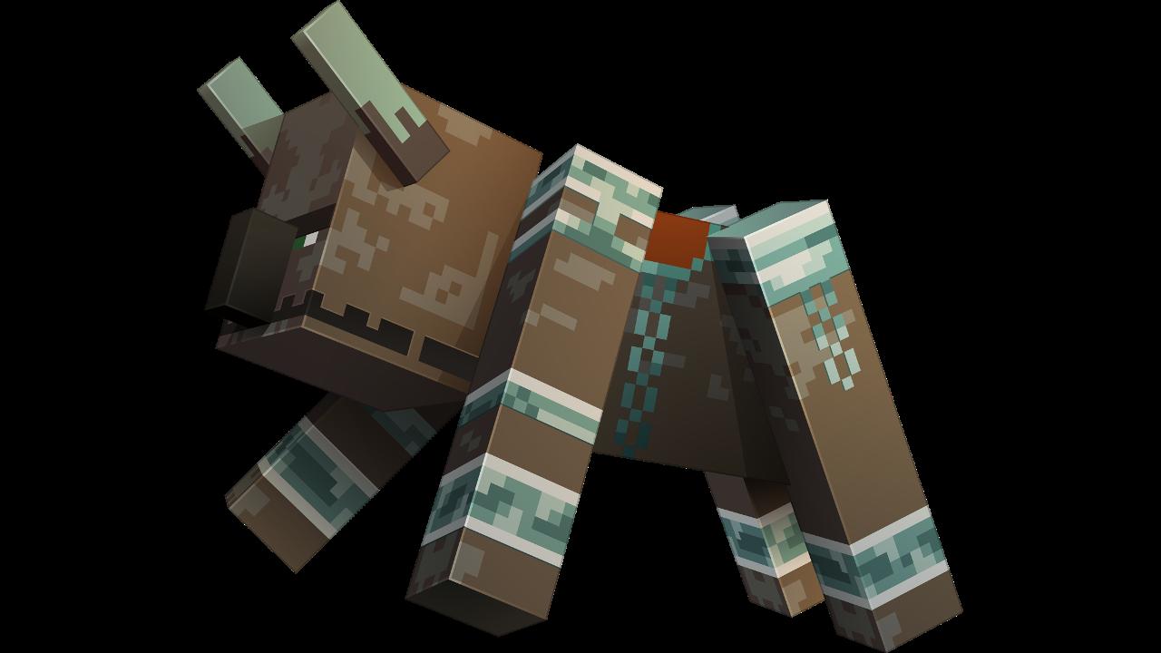 Immagine di Devastatore da uccidere per Ottenere Una Sella in Minecraft.