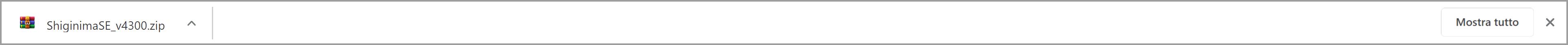 Questo è lo Screenshot del Download da aprire per entrare nella Cartella di Shiginima.