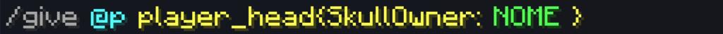 Con questo Comando si potrà givvarsi le teste in Minecraft 1.13, 1.14...