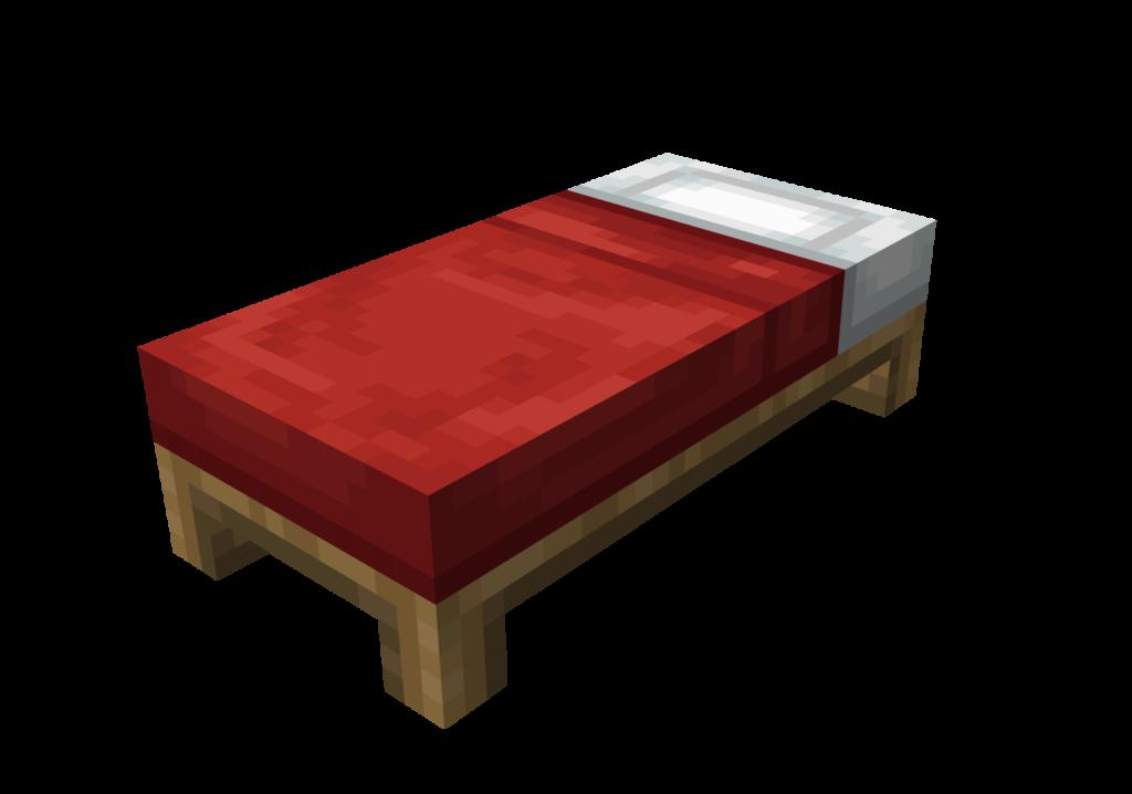 """Questo è un Letto, l'unico blocco che ci permette di dormire in Minecraft. Oggi non potremmo non vedere Come Craftare Un Letto In Minecraft, e risparmiarsi quindi tante """"pallosità"""" dei mostri che spawnano di notte, dato che passeremo direttamente al giorno dopo!"""