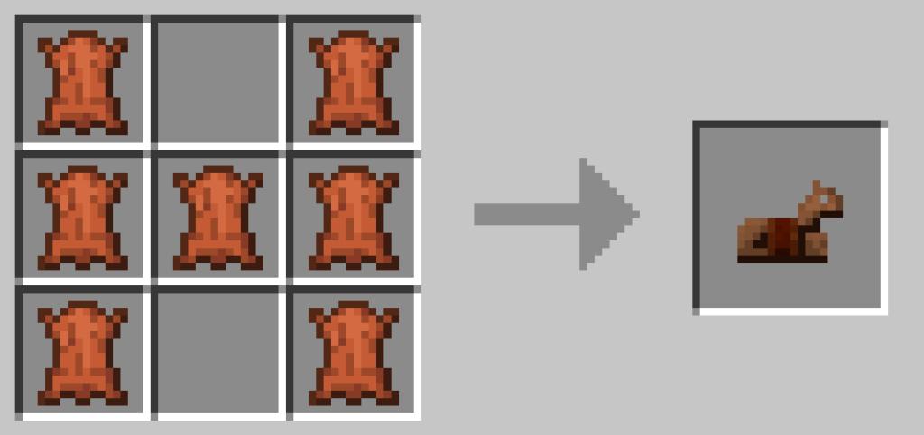 La bardatura è molto importante per proteggere il cavallo che ammaestriamo. Includo qui il Crafting perché oggi impariamo come addestrare un cavallo su Minecraft!