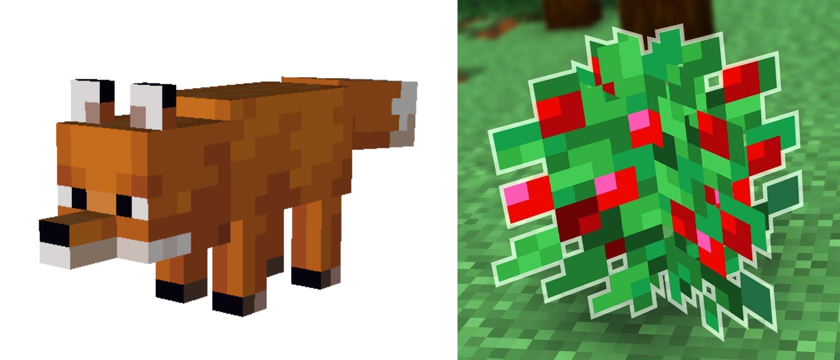 Le Bacche Dolci sono la chiave per addestrare una volpe su Minecraft, in quanto danno loro l'input per essere addestrate