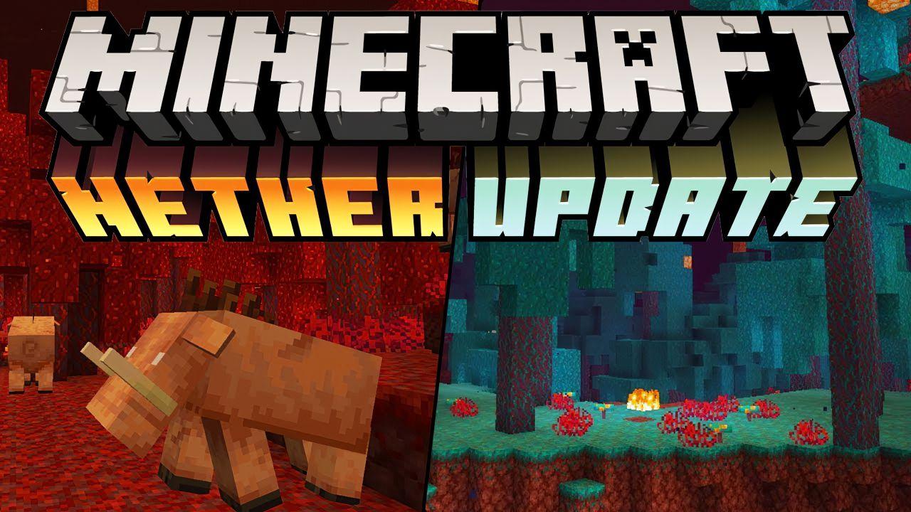 Immagine del Nether Update; a molti non è piaciuto molto come aggiornamento, e altri hanno finito le risorse. Quindi in questo articolo vedremo come resettare il Nether in Minecraft.