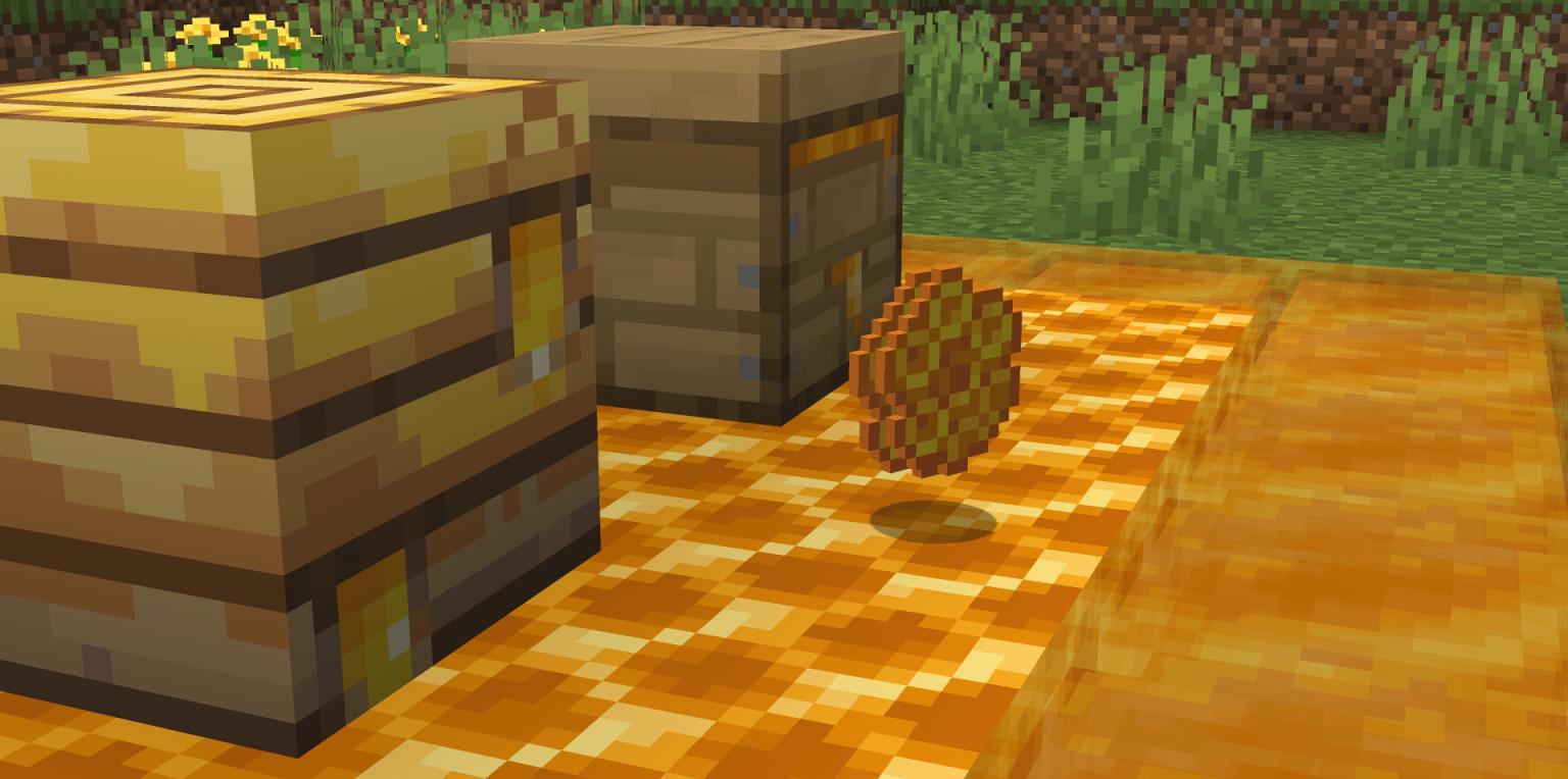 Ecco il famoso nuovo Favo di Minecraft.