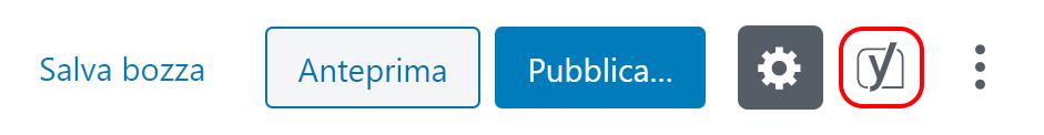 Va inserita la KeyWord: come fai a scrivere un articolo senza un tema? Inserisci la frase chiave del tuo articolo mettendola nell'apposito spazio!