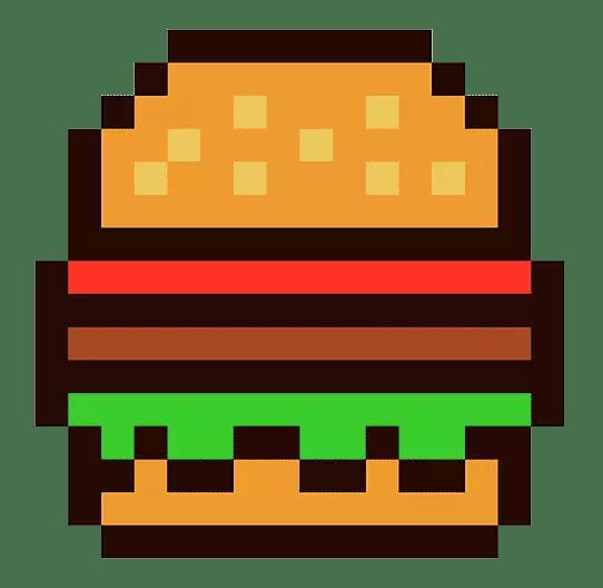 L'hamburger è molto bellino da replicare, infatti l'ho messo nella lista delle cose da costruire in Minecraft!