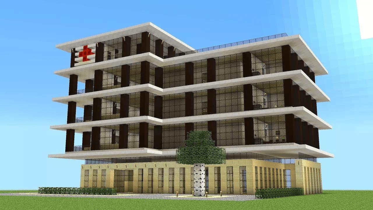 L'ospedale in questo periodo ci servirebbe proprio. Aiuta la sanità italiana! L'ho messo nella lista delle cose da costruire in Minecraft, magari voi costruitelo!