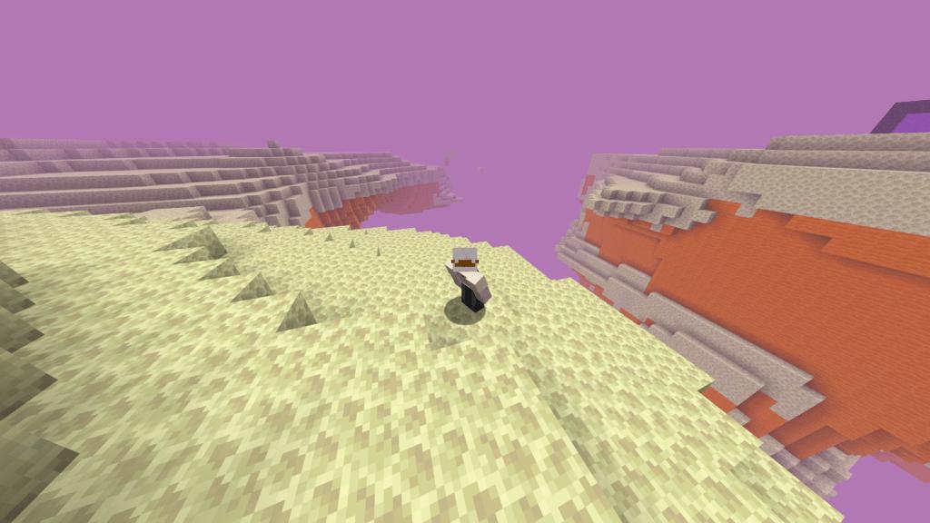 Altro mondo di Minecraft nella snapshot 20w14∞ infinite - Minecraft.