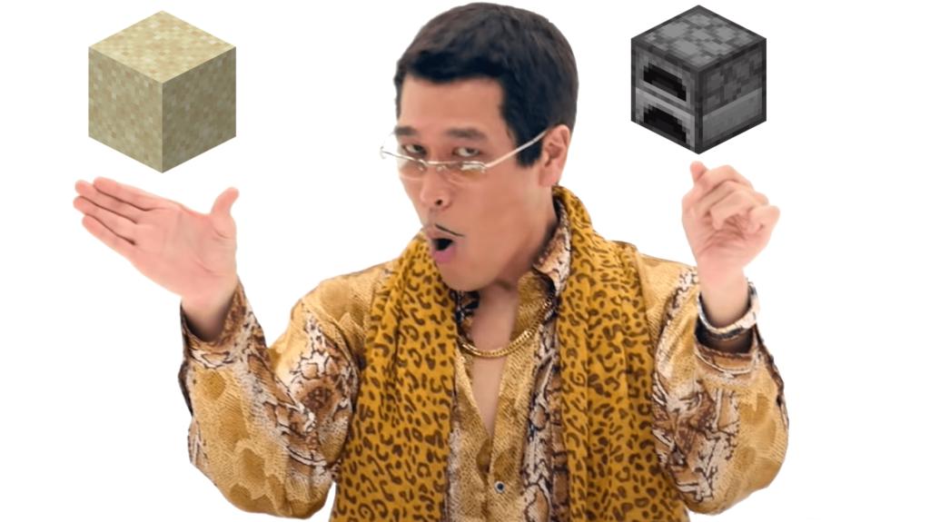 Ecco qua: fine. Ecco come fare il vetro di Minecraft con sabbia e fornace, miei cari.