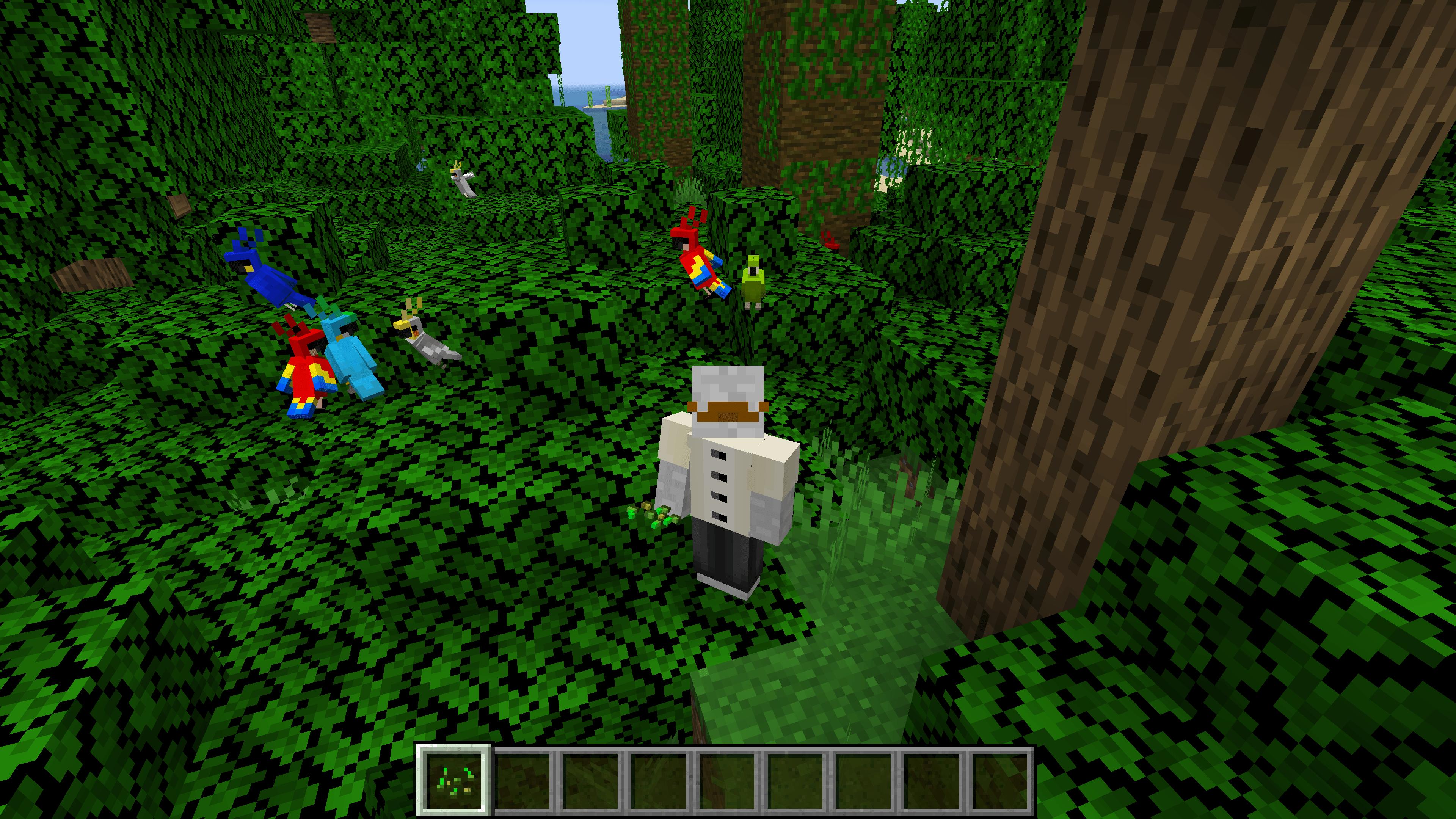 Seguendo questo tutorial su come ammaestrare i pappagalli su Minecraft, saprai come trovarli.