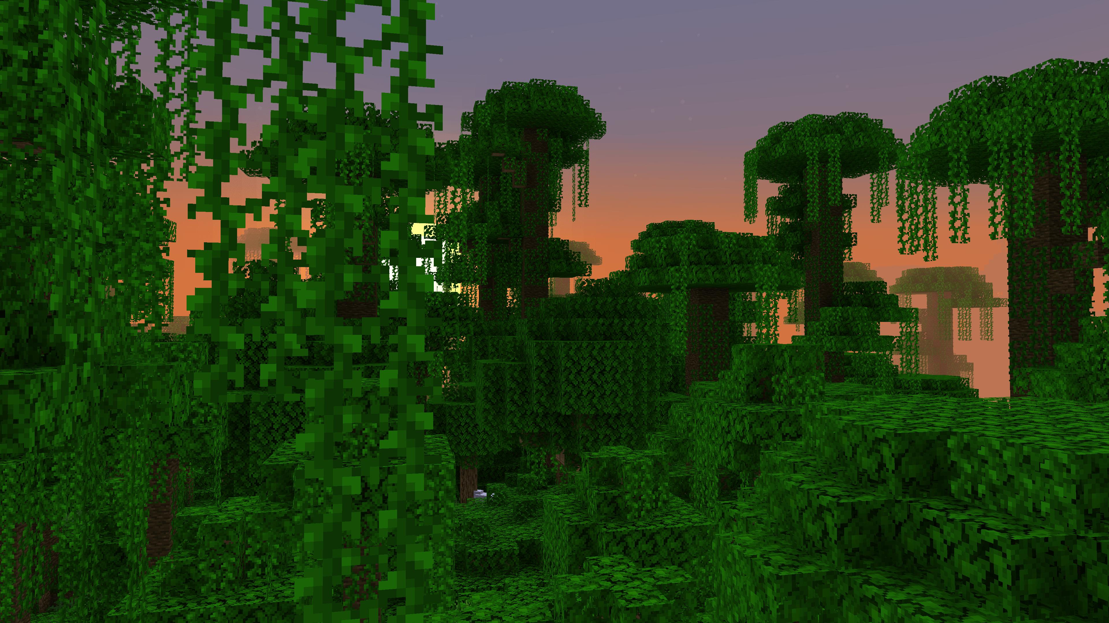Rechiamoci nella giungla di Minecraft, dove troveremo un pappagallo da addomesticare su Minecraft.