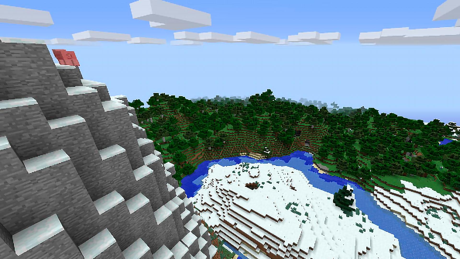 molti biomi vicini allo spawn. Da qui il settimo tra i migliori semi di Minecraft