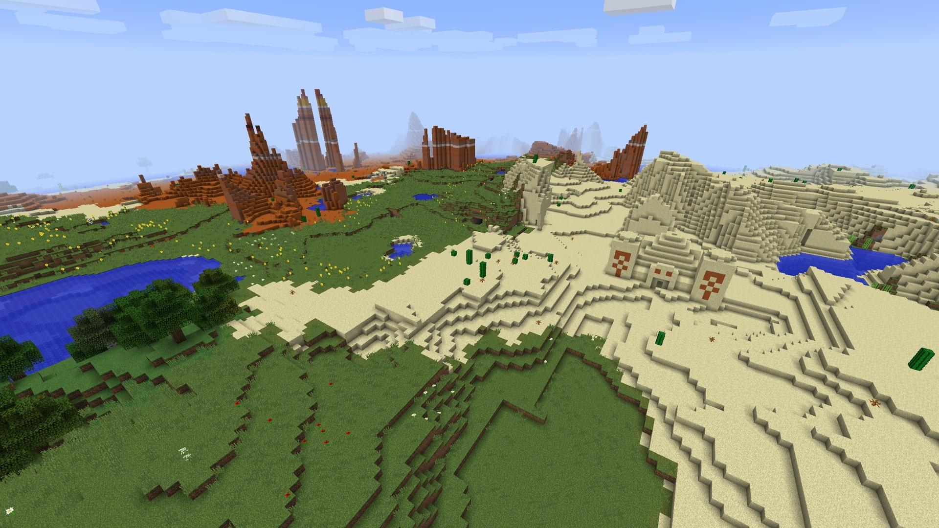 Quarto tra i semi migliori di Minecraft - tanti diamanti!
