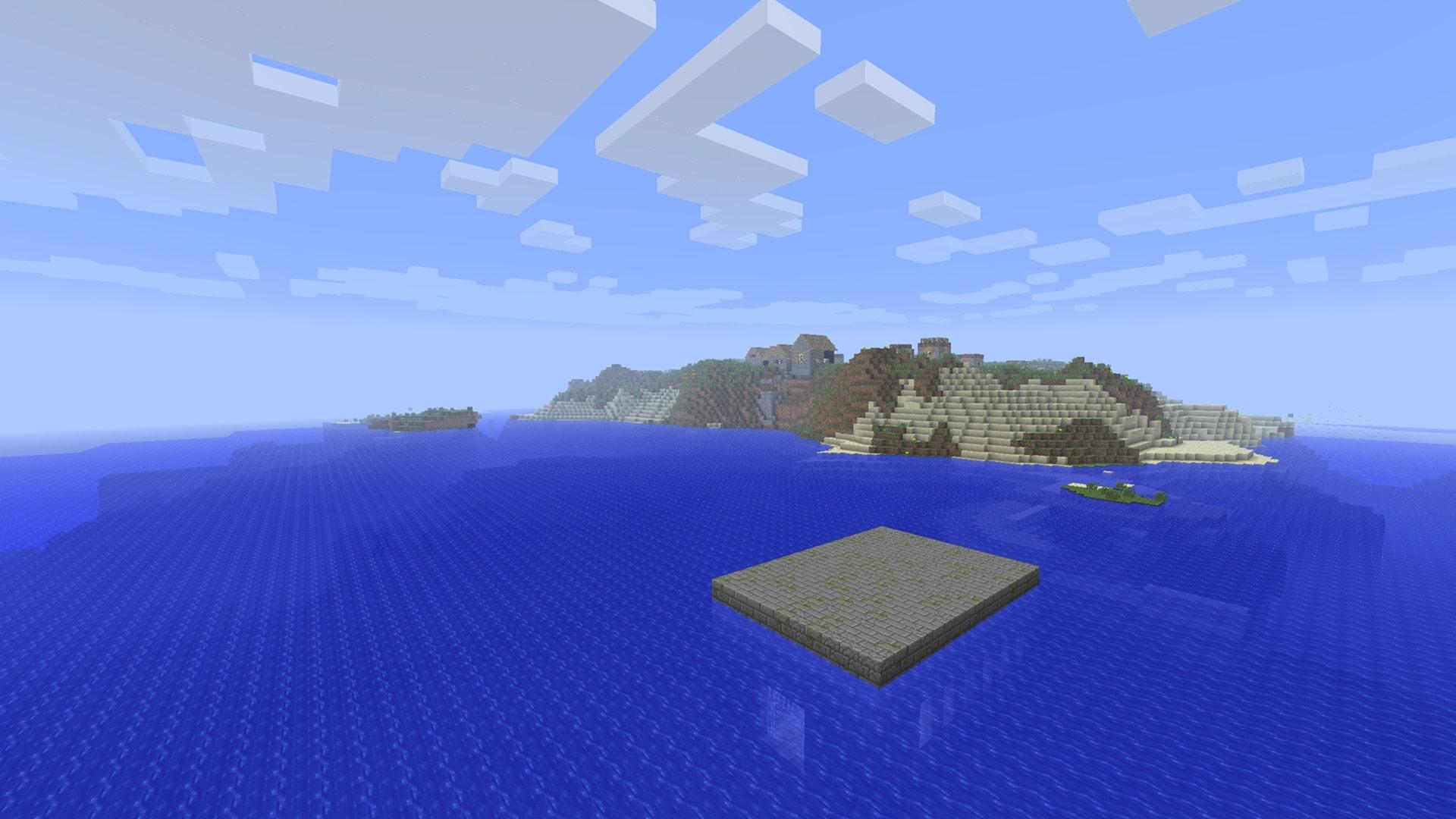 Seed / seme dossier... uno dei seed più strani ma più belli e migliori di Minecraft