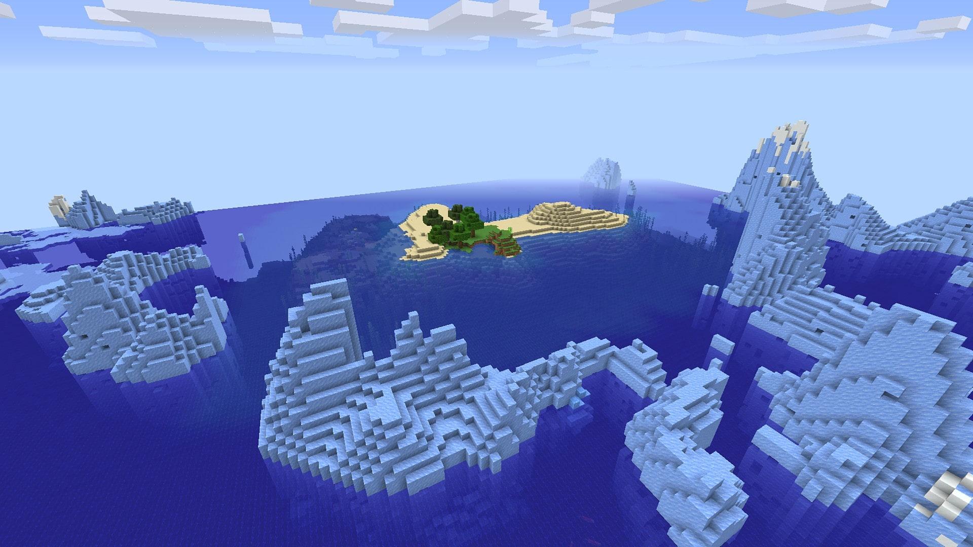 Ottavo seed - montagne di ghiaccio.