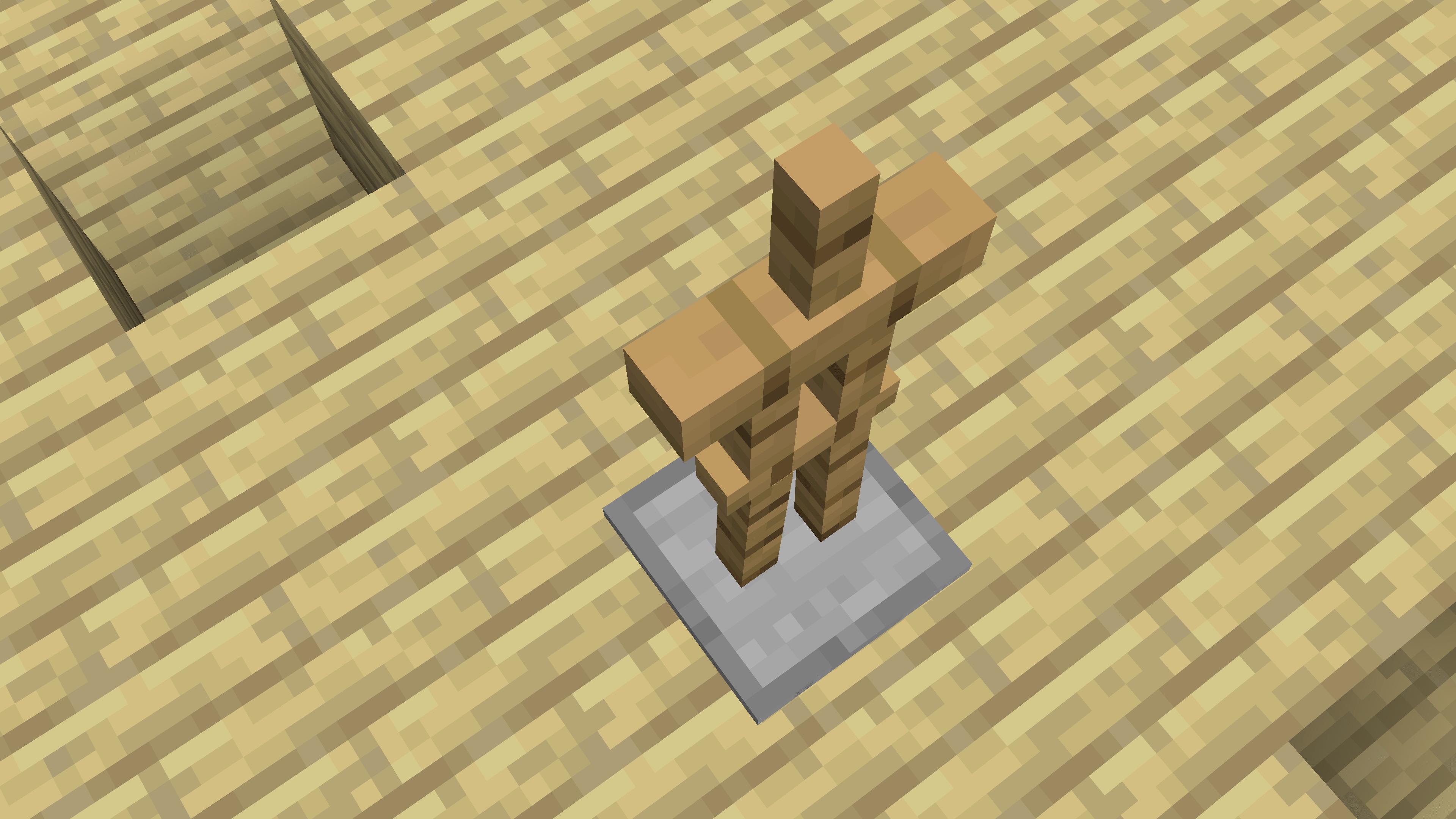 Tutto ha origine dalla Armor Stand. Da qui partono le scritte fluttuanti di Minecraft. Da qui perché una Armor Stand invisibile con Custom Name lo è.