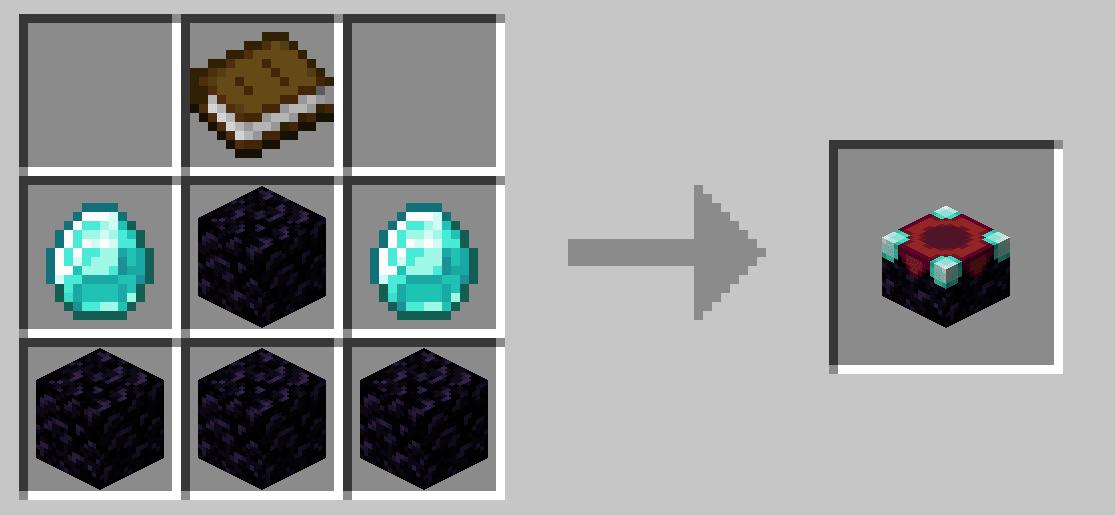 Signori, abbiamo appena craftato una Enchanting Table su Minecraft! Facile, con la Crafting Table.