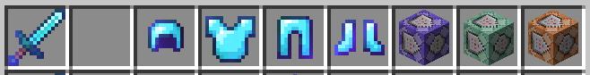 Ecco come salvare le hotbar su Minecraft (o hotbar = barra rapida)