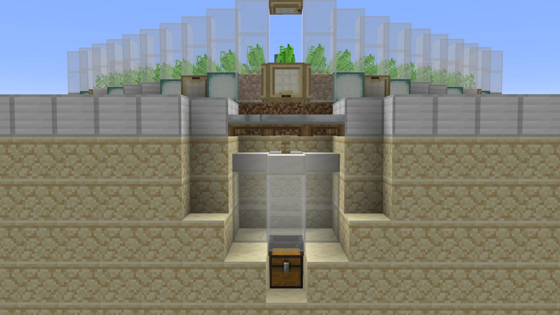 Meccanismo parte 1 - bello eh? Pronti villagers di Minecraft?