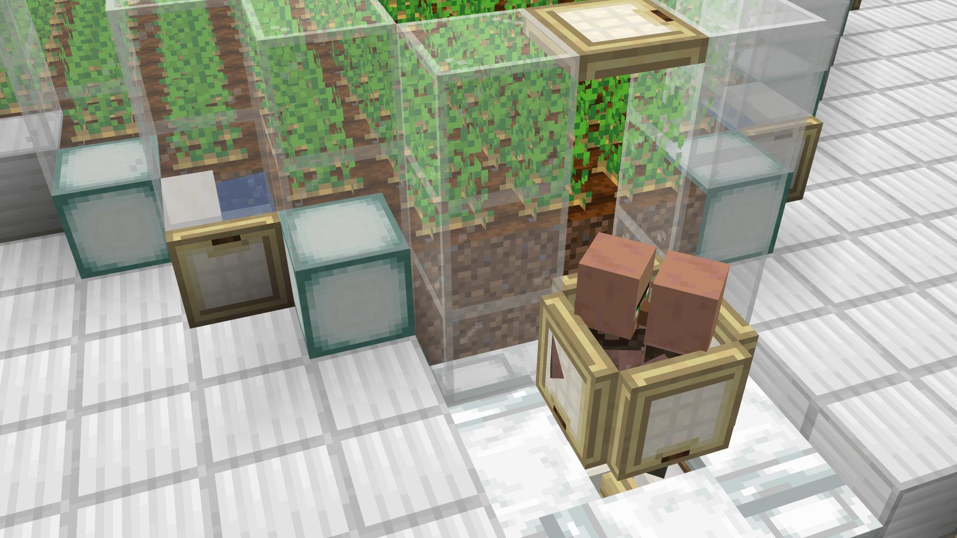Ecco qua come accoppiare i villagers su Minecraft.
