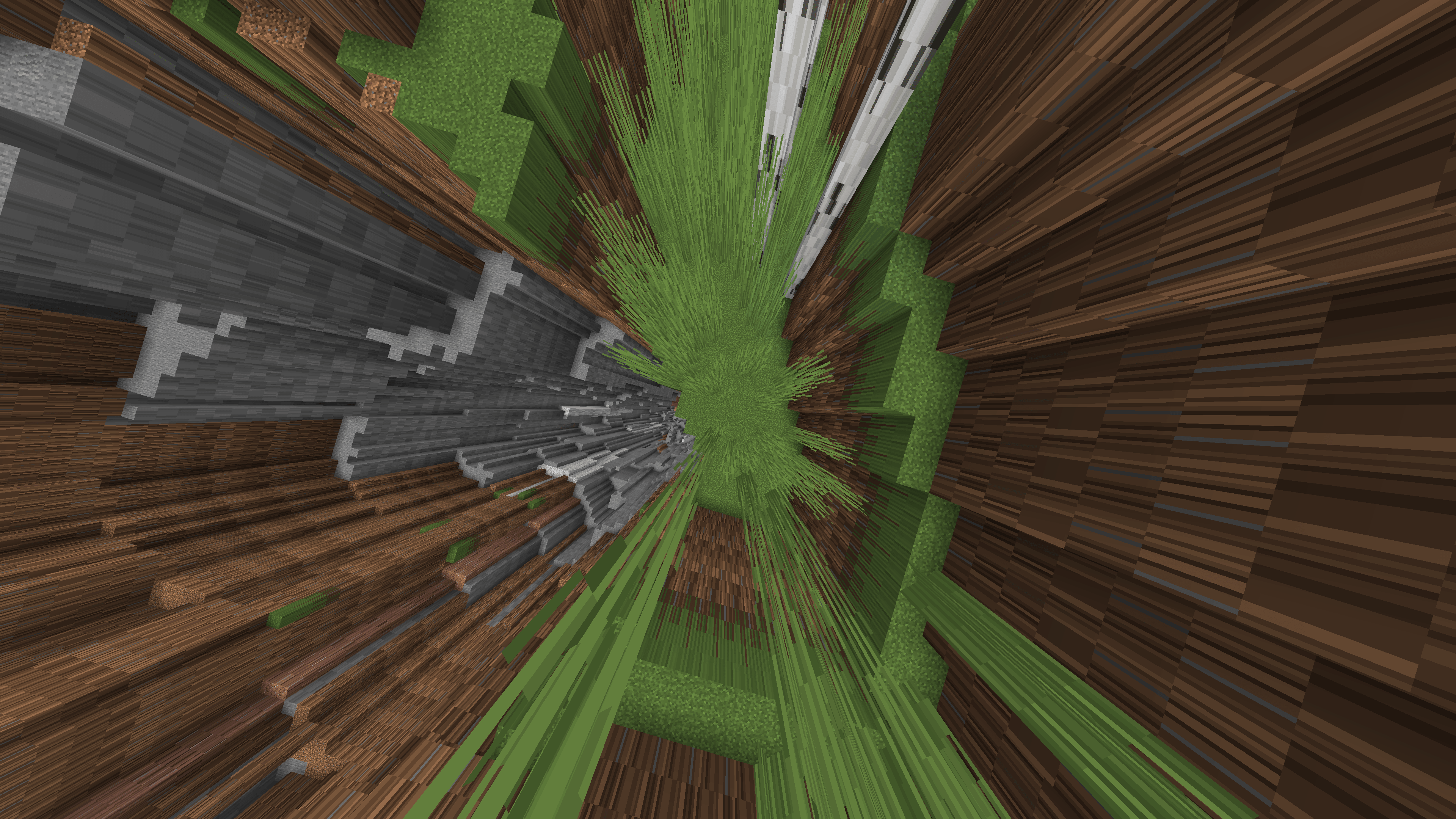 Immagine 1 - tutto stirato e rigirato, il campo visivo in Minecraft è troppo alto!
