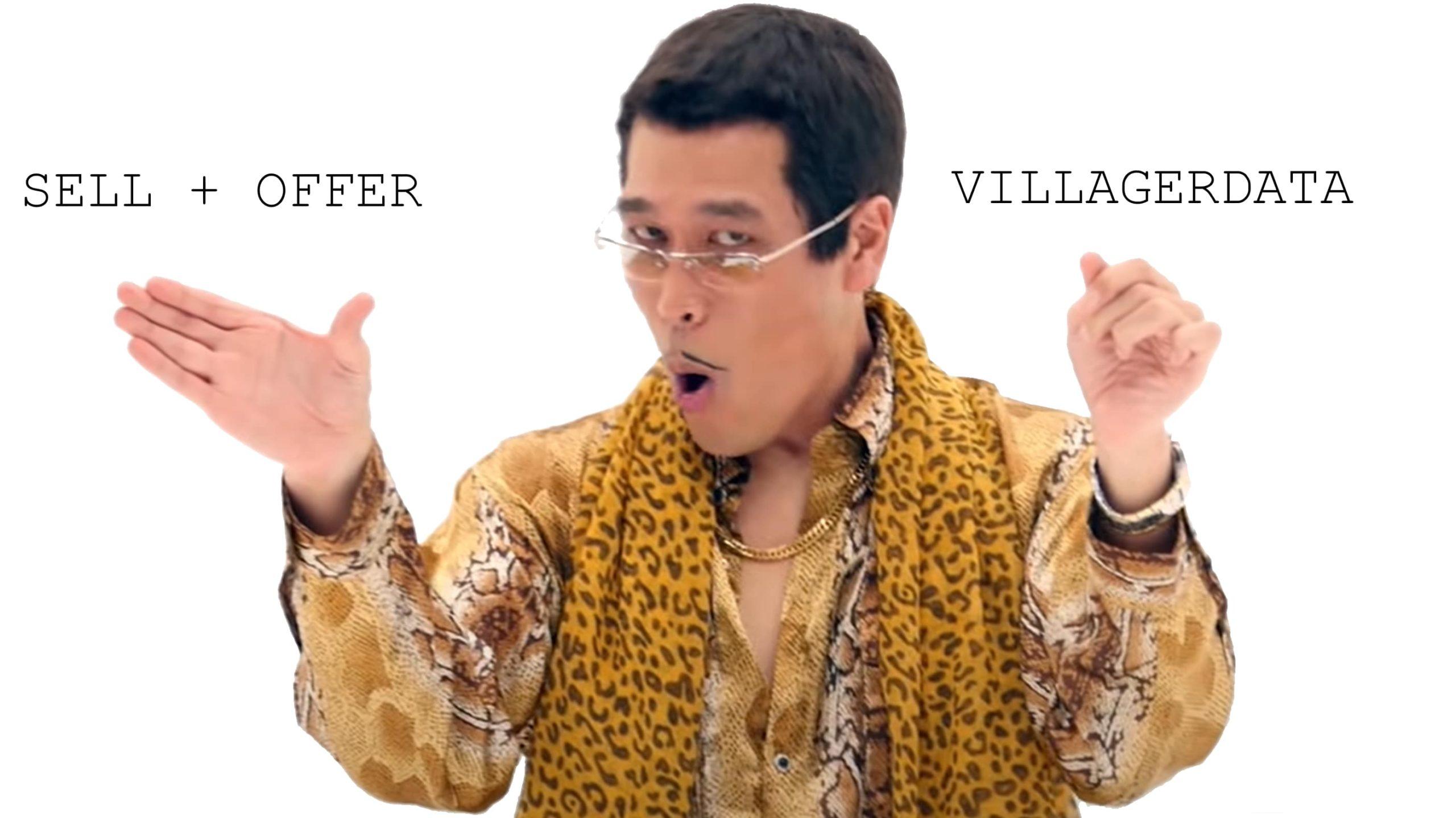 Schemino demenziale su come combinare scambi personalizzati e VillagerData in Minecraft.