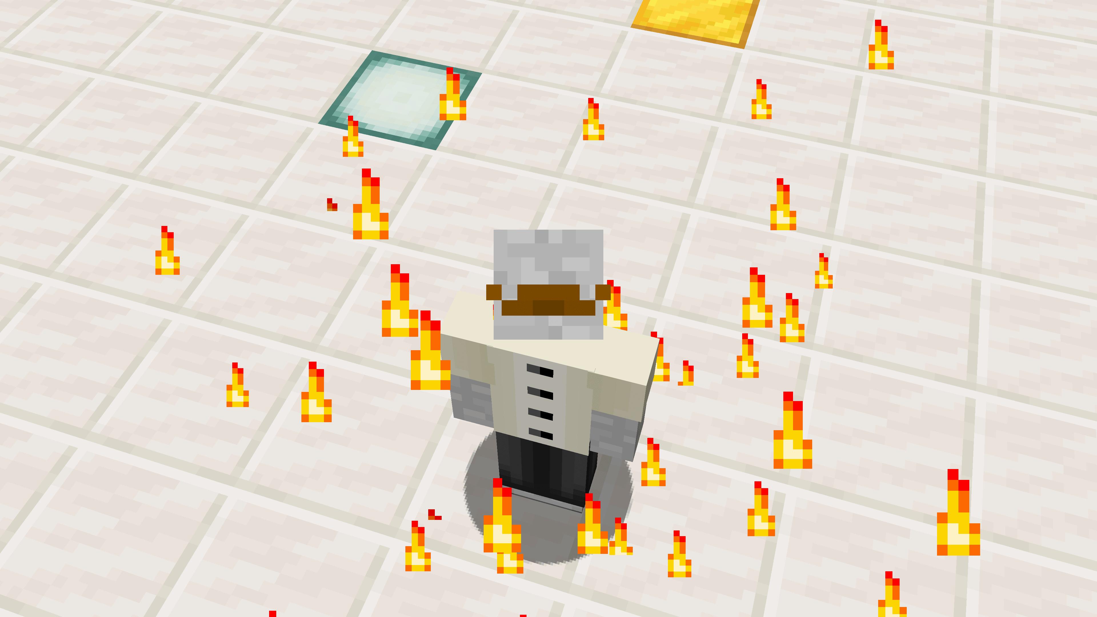 Ecco il tutorial per fare particelle che seguono il giocatore su Minecraft. Cominciamo.