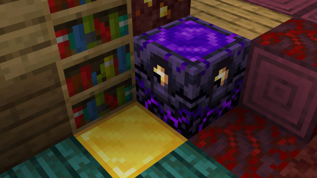 Quando L'Ancora della rinascita arriva ad essere piena, con 4 glowstone di carica, si potrà utilizzarla. Bello il nuovo Nether di Minecraft eh? Come? Leggi questo articolo!