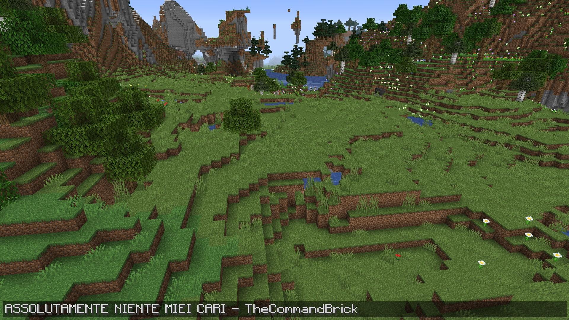 Benvenuti in questo tutorial! Oggi vedremo come non far spawnare i mob in Minecraft, per ottenere un mondo pulito come in questa immagine.