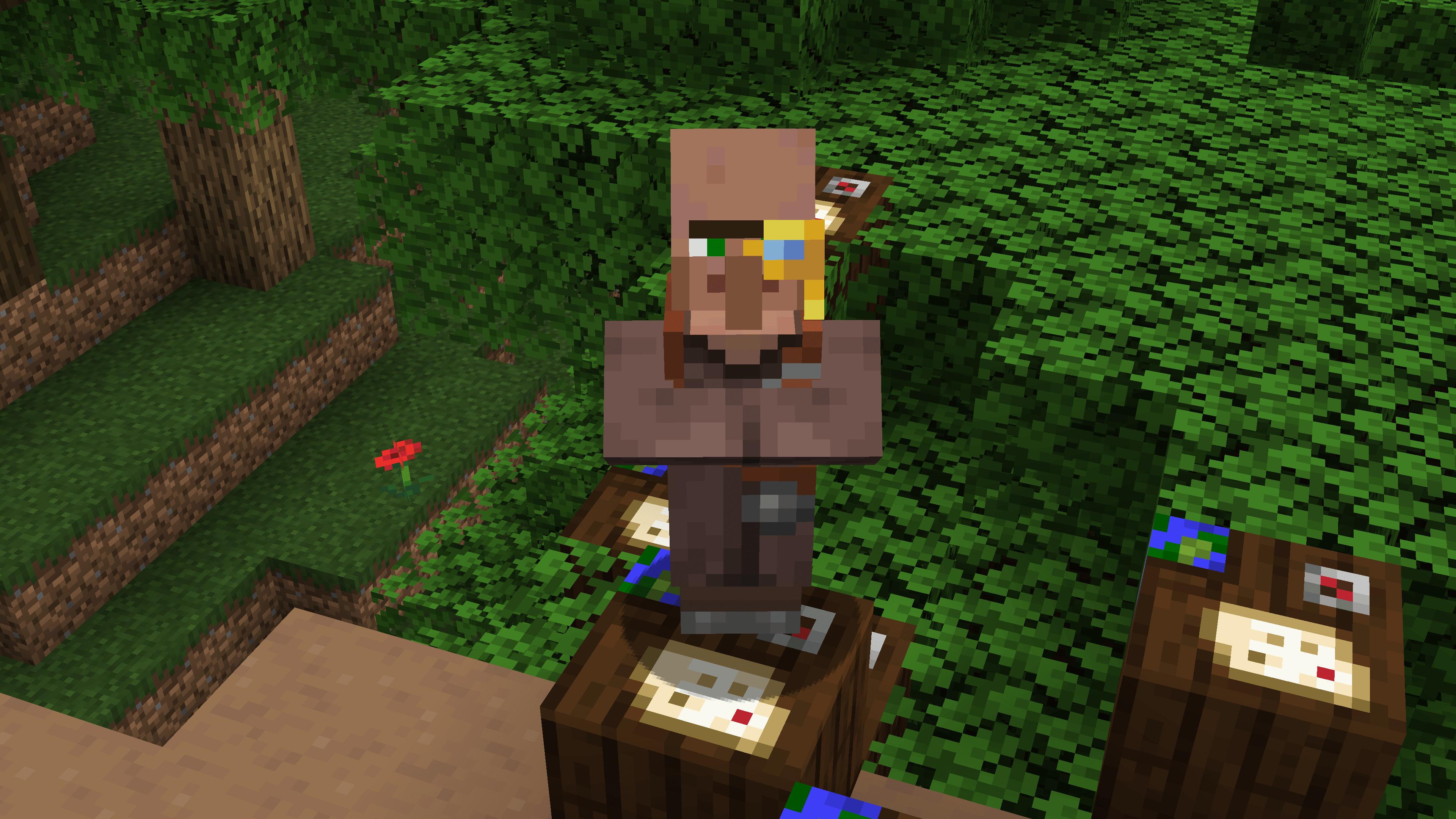 Una volta arrivato al villaggio, è il momento di cercare il cartografo. Importante cosa perché ci darà una mappa per trovare la magione!
