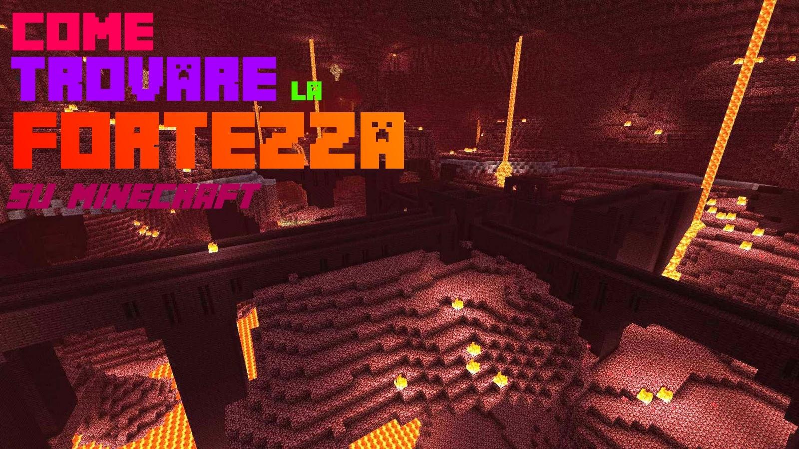 Benvenuti in questo articolo su Come Trovare La Fortezza Del Nether di Minecraft in modo molto semplice. Utilizzeremo due comandi: un Locate e un TP.