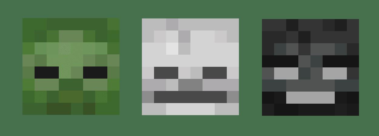 Anatema è un incantesimo di Minecraft che mira a danneggiare maggiormente i mob definiti morti: Zombi, Scheletri, Phantom e Wither.