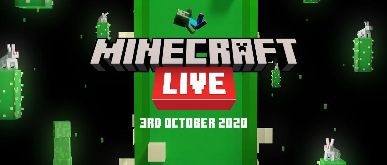 Il 3 ottobre 2020 c'è stato il Minecraft Live della Mojang, che ha introdotto il futuro Cave Update del gioco.