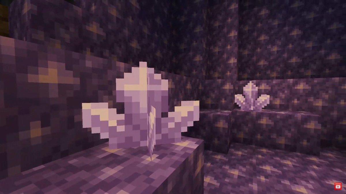 L'ametista del futuro Minecraft con l'aggiornamento della 1.17