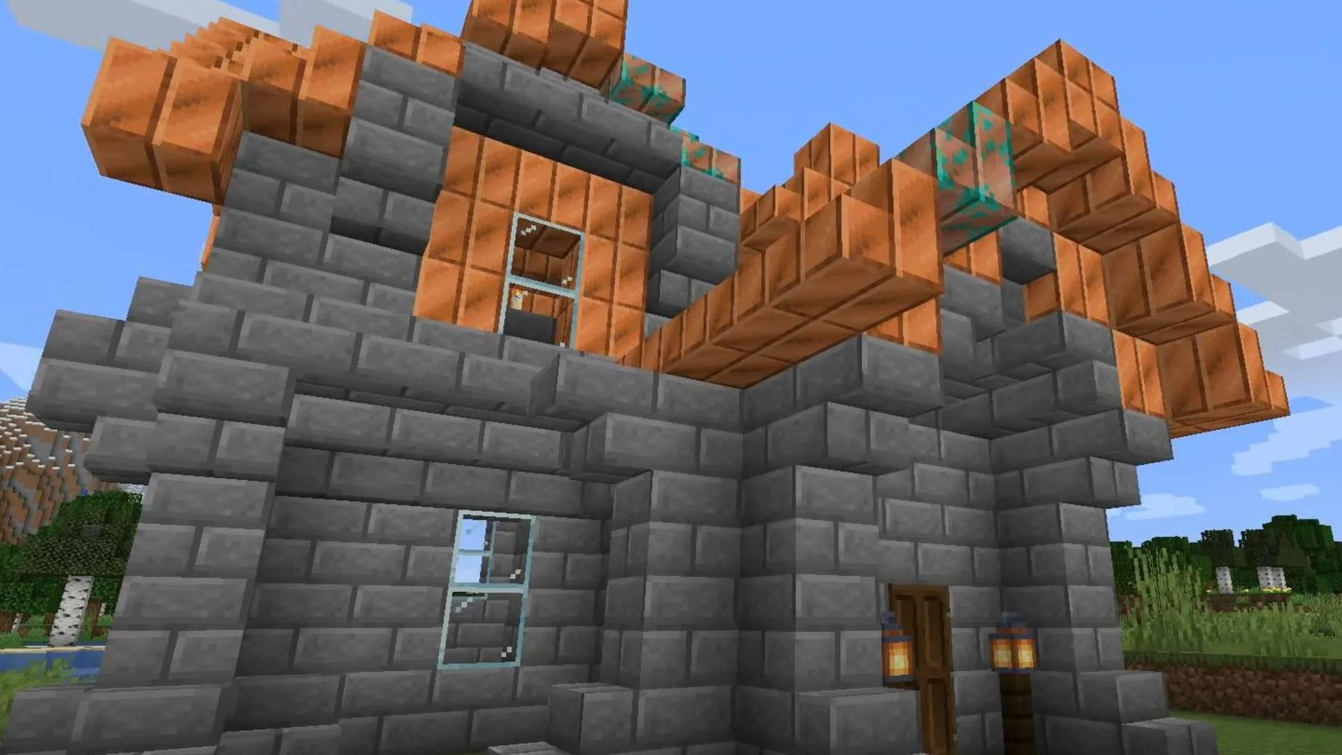 E infine il rame, che sarà introdotto in Minecraft 1.17.